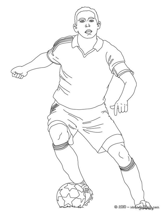 Dibujos para colorear camiseta de ftbol  eshellokidscom