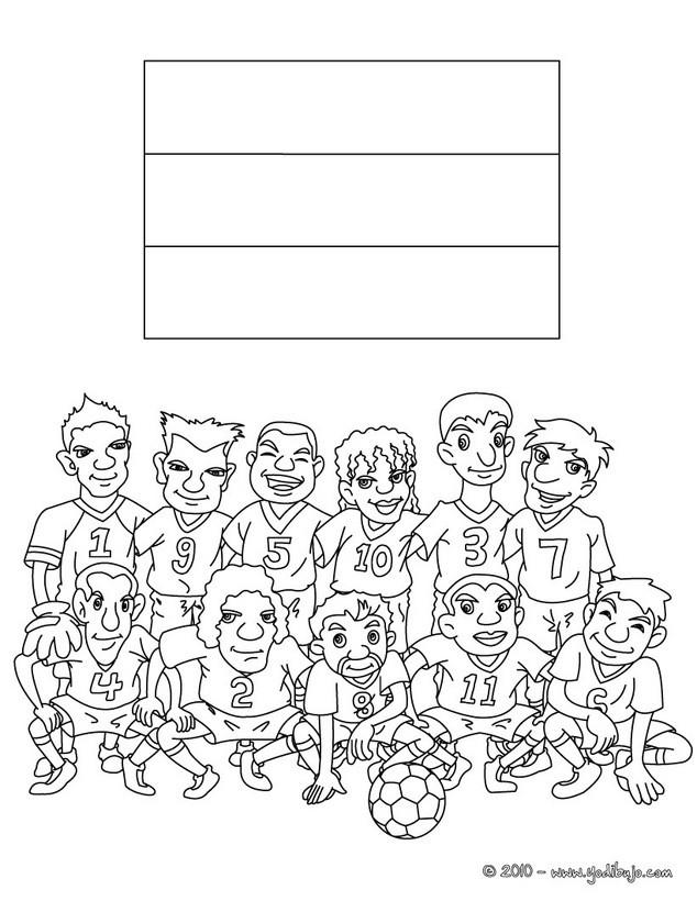 EQUIPOS DE FUTBOL para colorear - pintar 33 páginas de fútbol