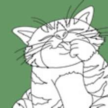 animales, Dibujos GATOS para colorear