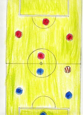 Terreno de futbol (Adrian Lopez, 7 años)