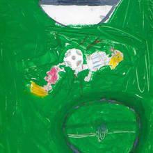 Fútbol (Alba Loureiro, 9 años)