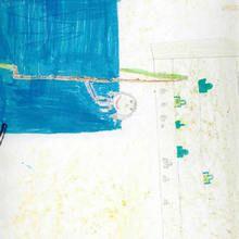 Ilustración infantil : Deporte (Alberto Souto, 9 años)