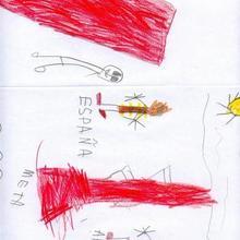 Paises olimpicos (Alvaro del Busto, 5 años)