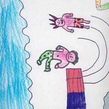 Ilustración infantil : Clavistas (Angel Souto, 9 años)