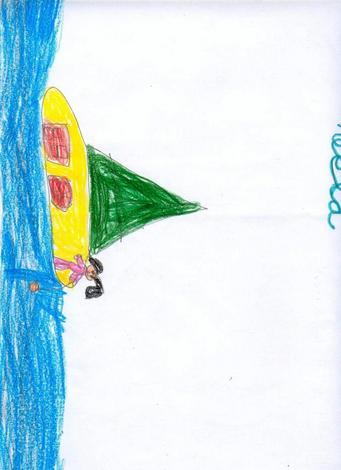 Dibujo de Antia Carpintero - 5 años