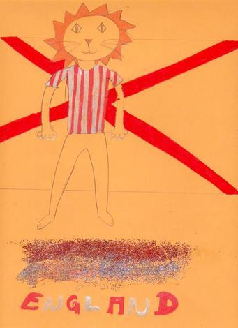 Deportista ingles (Clara Galiñañes, 9 años)