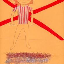 Deportista ingles (Clara Galiñañes, 9 años) - Dibujar Dibujos - Dibujos de NIÑOS - Dibujos de DEPORTES - Dibujos de los juegos olimpicos del CEIP Rosalia Castro - O Grove