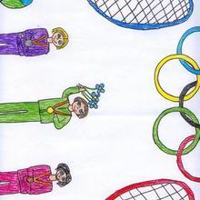 Medallas olimpcias (Cristina Blanco, 6 años)
