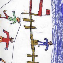Ganador de carrera (Daniel Gonzalez, 8 años) - Dibujar Dibujos - Dibujos de NIÑOS - Dibujos de DEPORTES - Dibujos de los juegos olimpicos del CEIP A Gandara Sofan-Carballo