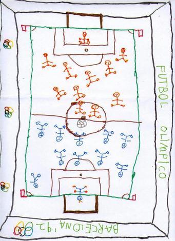 Partido futbol (Diego Sanchez, 5 años)