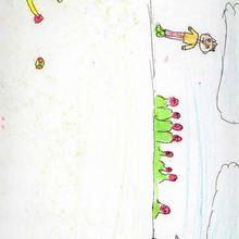 Beisbol (Eloy Cabeza, 10 años) - Dibujar Dibujos - Dibujos de NIÑOS - Dibujos de DEPORTES - Dibujos de los juegos olimpicos del CEIP A Gandara Sofan-Carballo
