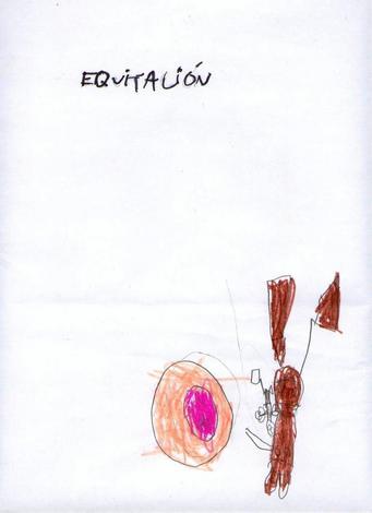 Dibujo de Erika Diaz - 5 años