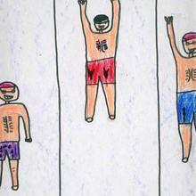 Natacion espalda (Fabian Lamas, 7 años)