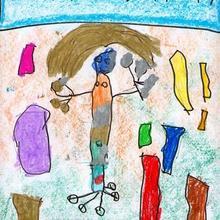 Son olimpicos (Henar Martinez, 4 años) - Dibujar Dibujos - Dibujos de NIÑOS - Dibujos de DEPORTES - Dibujos de los juegos olimpicos del CEIP Francisco Vales Villamarin - Betanzos