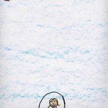 Gimnasia ritmica (Ines Mato, 7 años) - Dibujar Dibujos - Dibujos de NIÑOS - Dibujos de DEPORTES - Dibujos de los juegos olimpicos del CEIP A Gandara Sofan-Carballo