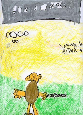 Son olimpicos (Ines Varela, 4 años)