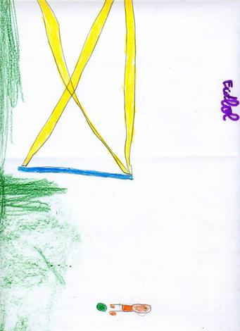 Dibujo de Jacobo Ruibal - 5 años