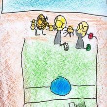Son olimpicos ( Jaime Diaz, 4 años) - Dibujar Dibujos - Dibujos de NIÑOS - Dibujos de DEPORTES - Dibujos de los juegos olimpicos del CEIP Francisco Vales Villamarin - Betanzos