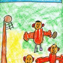 Son olimpicos (Javier Sanchez, 4 años) - Dibujar Dibujos - Dibujos de NIÑOS - Dibujos de DEPORTES - Dibujos de los juegos olimpicos del CEIP Francisco Vales Villamarin - Betanzos