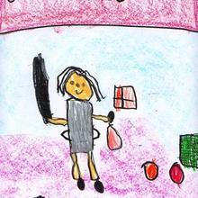 Son olimpicos (Jimena Garcia, 4 años)