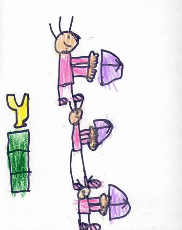 Arqueros (Joel Cortiñas, 6 años)