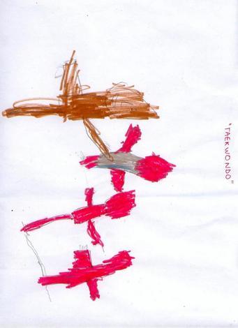 Dibujo de Joel Ferreira - 4 años