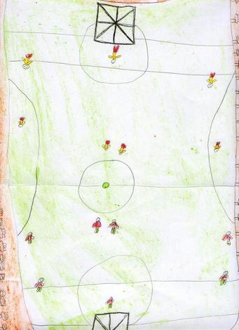 Dibujo de Jose Manuel Castro - 9 años
