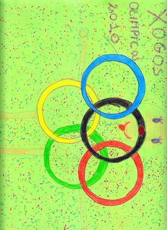 Anillos olimpicos 2012 (Julia Devesa, 10 años)