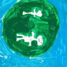 Ilustración infantil : Golf (kevin Rodriguez, 8 años)