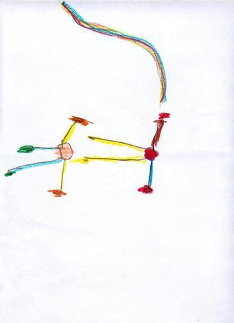 Dibujo de Lara Maria Diaz - 5 años