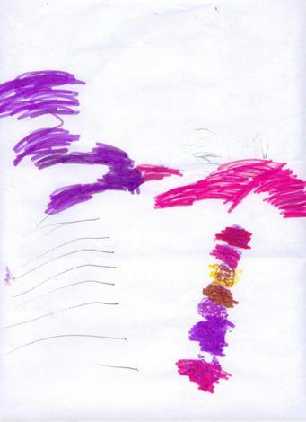 Dibujo de Lara Rodriguez - 5 años