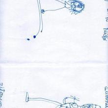 Deportistas olimpicos (Laura Formoso, 6 años)