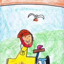 Son olimpicos (Manuel Diaz, 4 años) - Dibujar Dibujos - Dibujos de NIÑOS - Dibujos de DEPORTES - Dibujos de los juegos olimpicos del CEIP Francisco Vales Villamarin - Betanzos