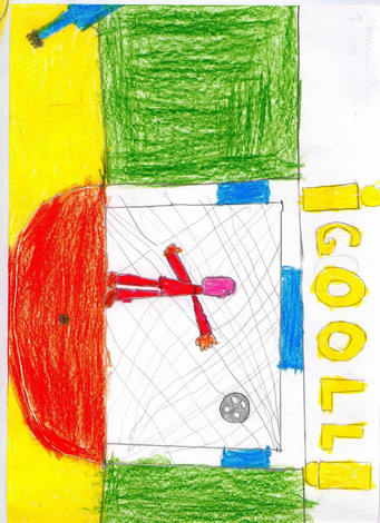 Portero (Manuel Rio, 8 años)