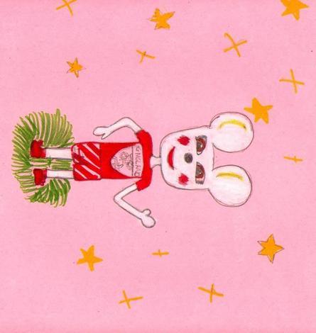 Mascota juegos olimpicos (Maria Alfonso, 10 años)