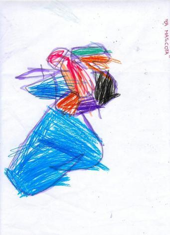 Dibujo de Maria Gonzalez - 4 años