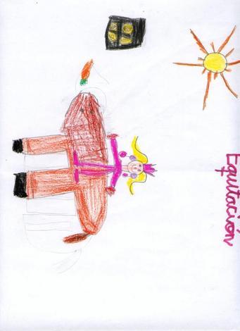 Dibujo de Nerea Alvez - 5 años