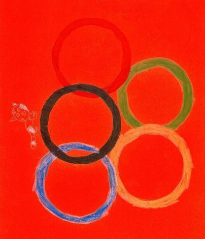 Bandera olimpica (Nerea Canedda, 9 años)