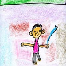 Son olimpicos (Noa Touriño, 4 año) - Dibujar Dibujos - Dibujos de NIÑOS - Dibujos de DEPORTES - Dibujos de los juegos olimpicos del CEIP Francisco Vales Villamarin - Betanzos