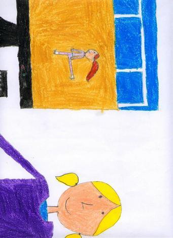 Dibujo de Noelia Pereira - 10 años