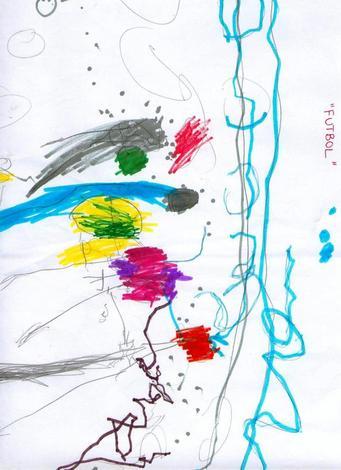Dibujo de Oliver Miguez - 5 años