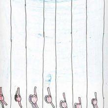 Natacion (Paula Calvete, 9 años) - Dibujar Dibujos - Dibujos de NIÑOS - Dibujos de DEPORTES - Dibujos de los juegos olimpicos del CEIP A Gandara Sofan-Carballo