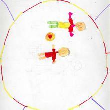 Ilustración infantil : Paula Fernandez, 8 años