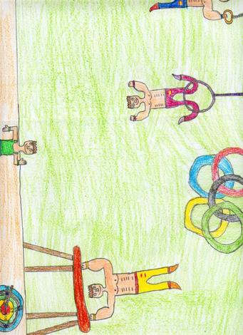 Dibujo de Ramiro Gonzalez - 9 años