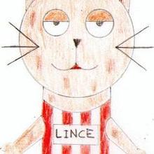 Lince olimpico ( Raquel Costas, 9 años) - Dibujar Dibujos - Dibujos de NIÑOS - Dibujos de DEPORTES - Dibujos de los juegos olimpicos del CEIP Rosalia Castro - O Grove