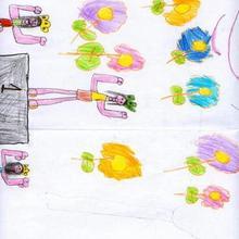 Victoria olimpica (Raquel Loureda, 5 años)