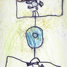 Partido de futlbol (Raul Vera, 6 años) - Dibujar Dibujos - Dibujos de NIÑOS - Dibujos de DEPORTES - Dibujos de los juegos olimpicos del CEIP A Gandara Sofan-Carballo