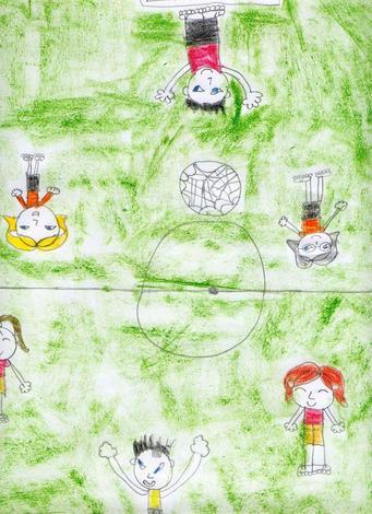 Dibujo de Rocio Costa - 10 años