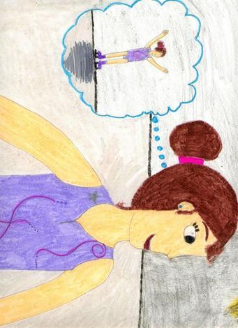 Dibujo de Rosana Liste - 10 años