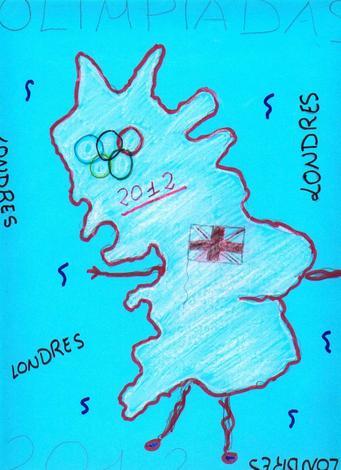 Londres 2012 (Sara Dominguez, 9 años)
